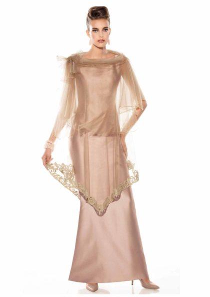 vestido largo de madrina en Valladolid