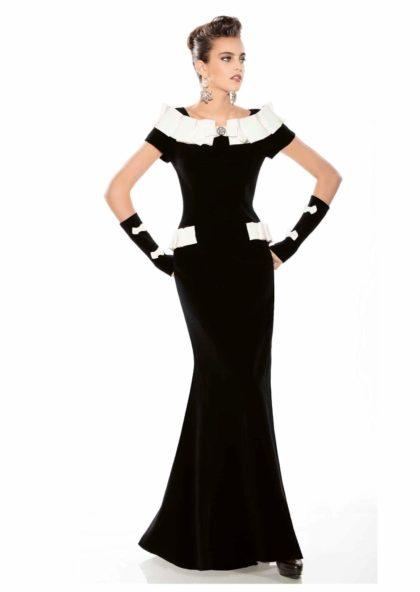 vestido largo de fiesta o coctel negro en Valladolid